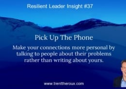Developing Resilient Leaders