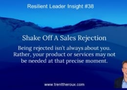 Shake Off Sales Rejection