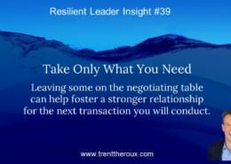Fair Negotiations Foster Strong Relationships